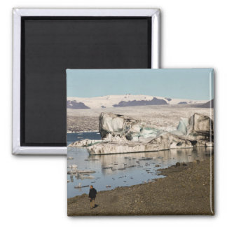 Iceberg formations 2 refrigerator magnet