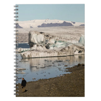 Iceberg formations 2 spiral note book