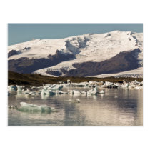 Iceberg formations 3 postcard