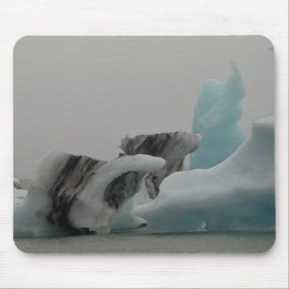 Iceberg formations mouse pad