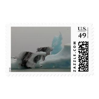 Iceberg formations postage stamp