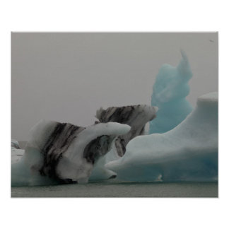 Iceberg formations posters