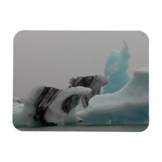 Iceberg formations rectangle magnet
