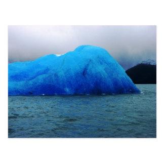 Iceberg, glaciar de Upsala, Lago la Argentina Tarjetas Postales