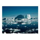 Iceberg, Greenland Winter Postcard