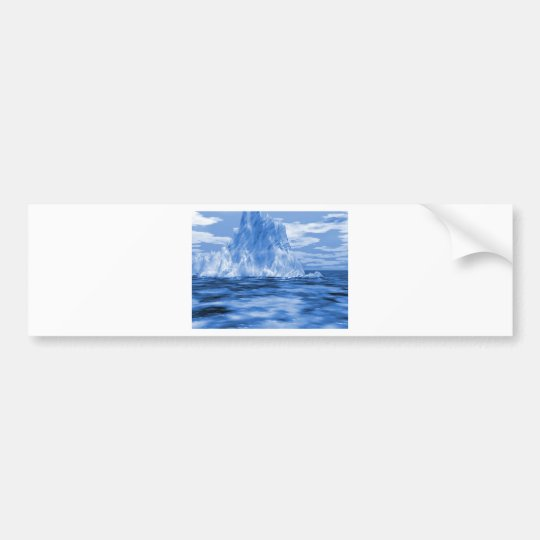 Iceberg Iceburg Bumper Sticker
