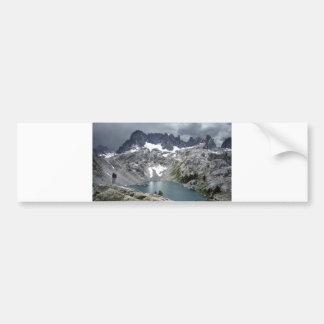 Iceberg Lake 2 - Ansel Adams Wilderness Bumper Sticker