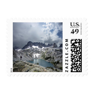 Iceberg Lake 2 - Ansel Adams Wilderness Postage