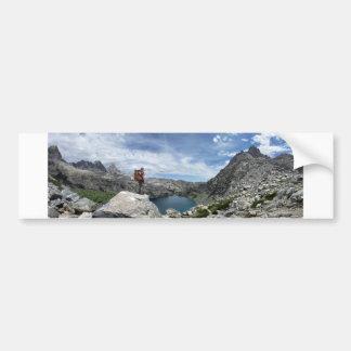 Iceberg Lake - Ansel Adams Wilderness - Sierra Bumper Sticker