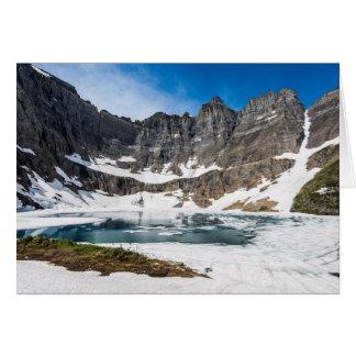 Iceberg Lake, Glacier National Park Card