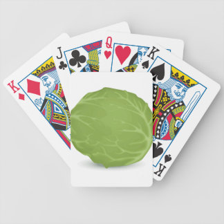 Iceberg Lettuce Bicycle Playing Cards
