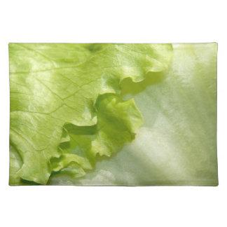Iceberg lettuce leaf cloth placemat