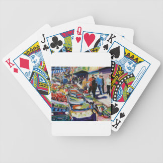 iceberg lettuce moore street dublin bicycle playing cards