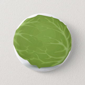 Iceberg Lettuce Pinback Button