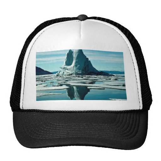 Iceberg, Slidre Fiord, Eureka Weather Station, NWT Hat