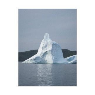 Iceberg - St. Anthony Newfoundland - vertical Canvas Print