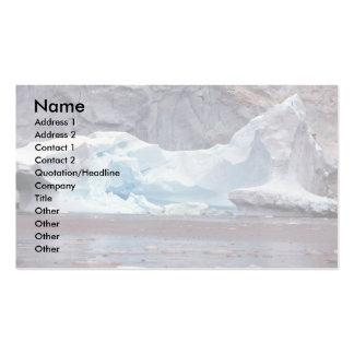 Icebergs, Antarctica Business Card