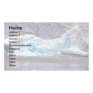 Icebergs, Antarctica Double-Sided Standard Business Cards (Pack Of 100)