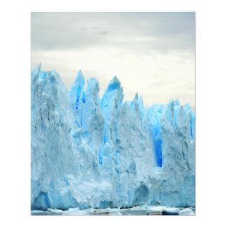 ICEBERGS ASOMBROSOS PHOTOGRAGHY ÁRTICO NATUR de la Flyer Personalizado