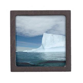 Icebergs de hielo apagado de la extremidad meridio cajas de regalo de calidad