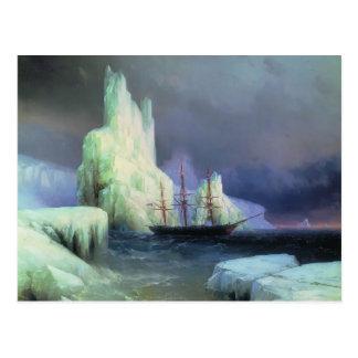 Icebergs de Ivan Aivazovsky- en el Atlántico Postales