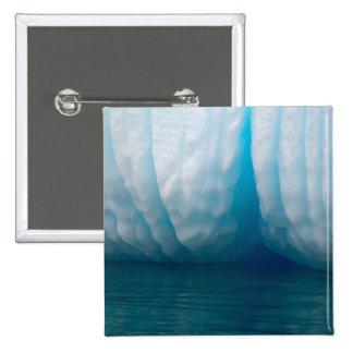 Icebergs de la visión en azul en el canal de Errer Pin Cuadrado