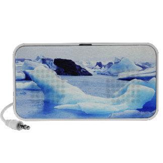 Icebergs en la laguna de Jokulsarlon Altavoces De Viaje