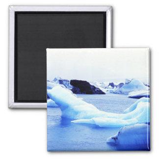 Icebergs en la laguna de Jokulsarlon Imanes De Nevera
