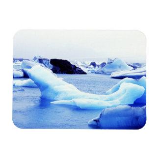 Icebergs en la laguna de Jokulsarlon Iman Rectangular