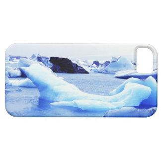 Icebergs en la laguna de Jokulsarlon iPhone 5 Carcasas