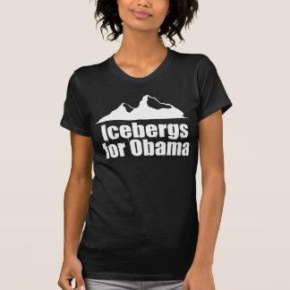 Icebergs for Obama Tshirts