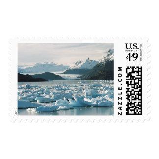 Icebergs glaciales franqueo
