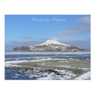 Icebergs in Captain's Bay, Unalaska Island Postcard