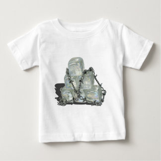 IceBlocksBarbedWire083114 copy.png Baby T-Shirt