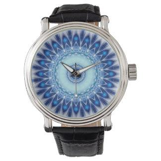 Iceblue de la mandala creado por Tutti Relojes De Pulsera