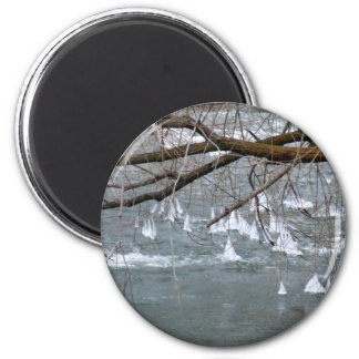 IceBoats 2 Inch Round Magnet