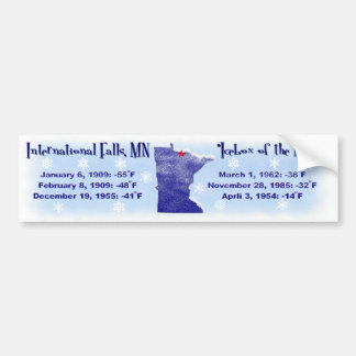 Icebox of the Nation Bumper Sticker