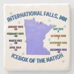 Icebox of the Nation Stone Coaster