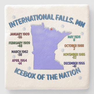 Icebox of the Nation Stone Coaster