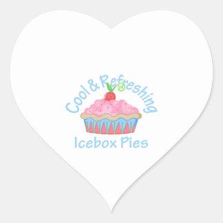 ICEBOX PIES HEART STICKERS