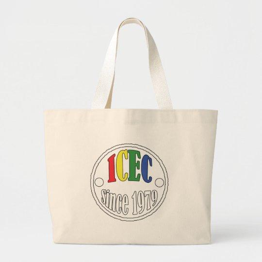 ICEC Since 1979 Logo Large Tote Bag