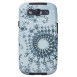 Icecap Spirals Fractal Samsung Galaxy SIII Case