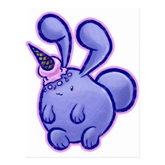 Icecream Bunny Postcard