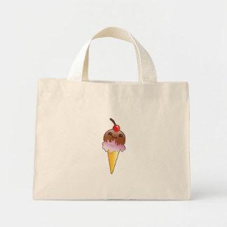 icecream creamery yum! mini tote bag