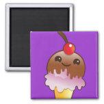 icecream creamery yum! refrigerator magnet
