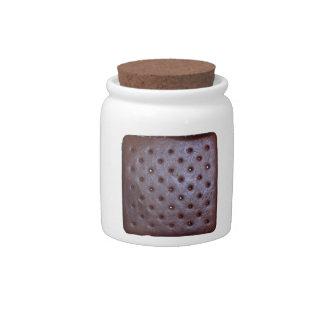 Icecream Sandwich Texture Candy Jar