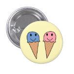 Icecreams 3 pinback button
