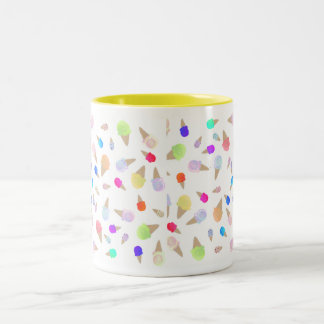 Icecreams Two-Tone Coffee Mug