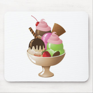 IceCreamSundae Mouse Pad