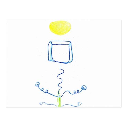 Icecube eléctrico tarjetas postales